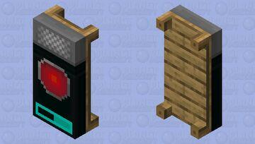HAL-9000 Bedsheets Minecraft Mob Skin