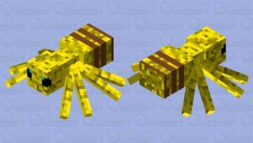 spiderbee Minecraft Mob Skin