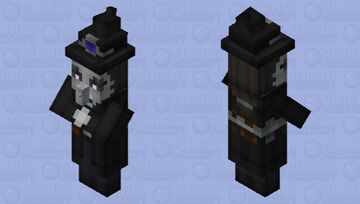 Mysterious witch Minecraft Mob Skin
