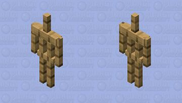 Armor Stand without Stand Minecraft Mob Skin