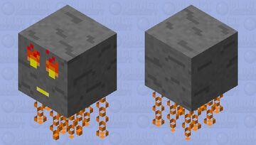 Lava Nimbus Minecraft Mob Skin