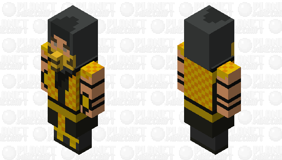 Get Over Here! Minecraft Skin