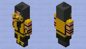 Get Over Here! Minecraft Mob Skin