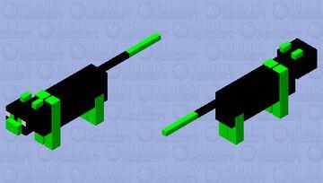 omega cat Minecraft Mob Skin