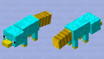 Perry the platypus/ agent P Minecraft Mob Skin