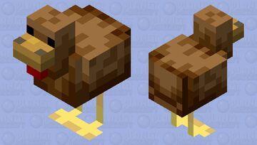 Real Chicken Minecraft Mob Skin