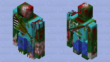 Mutant Zombie Golem Minecraft Mob Skin