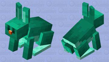 Warped Rabbit V3 (OLD) Minecraft Mob Skin