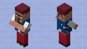 Pirate Villager Minecraft Mob Skin