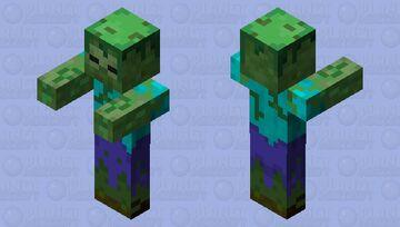 jungle zombie ( minecraft dungeons Jungle Awakens dlc) Minecraft Mob Skin