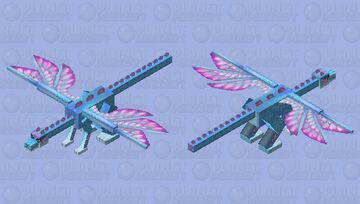Faerie Dragon Minecraft Mob Skin