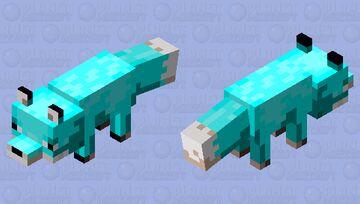 Warped Fox Minecraft Mob Skin