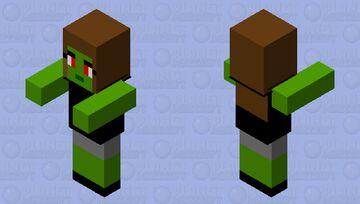 zombie 1 Minecraft Mob Skin