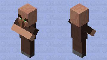 A vILLAGER Minecraft Mob Skin
