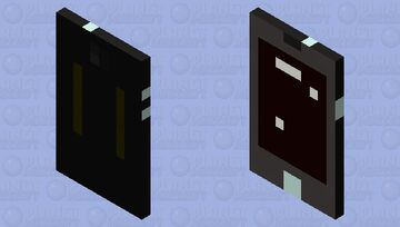shiny turned off phone Minecraft Mob Skin