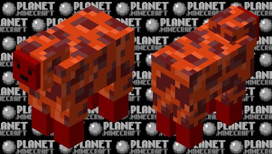 Nether Sheep Minecraft Skin