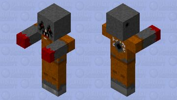 The Forgotten Minecraft Mob Skin
