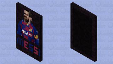 Lionel Messi Minecraft Mob Skin