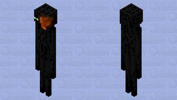 enderman that met a ghast fireball the had way Minecraft Mob Skin