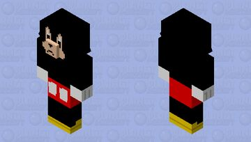 Angry Mickey Mouse- err, piglin Minecraft Mob Skin
