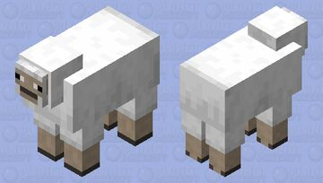 Real Sheep Minecraft Mob Skin