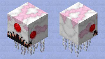 Nightmarish Ghast Minecraft Mob Skin