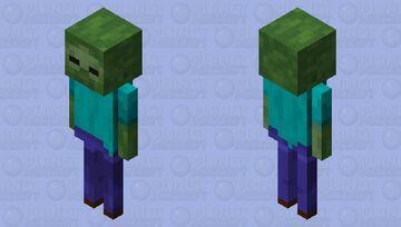 skele... zombie??? Minecraft Mob Skin