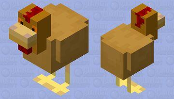 Buff Orpington Chicken [Mobs of Minecraft Reimagined] Minecraft Mob Skin