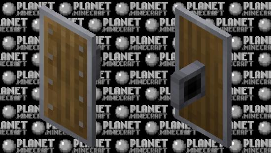 Better Default Shield +7 Wood Variants Minecraft Skin