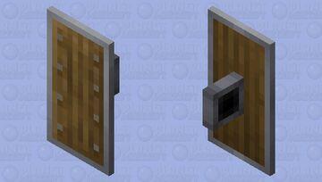 Better Default Shield +7 Wood Variants Minecraft Mob Skin
