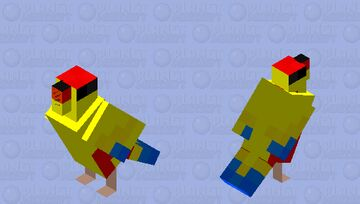 Little tropical finch (Mutation 301) Minecraft Mob Skin