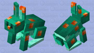 Warped Rabbit V4 Minecraft Mob Skin