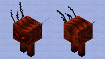 Lava Sprider Minecraft Mob Skin