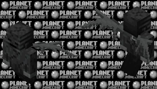 Wither Vex Minecraft Skin