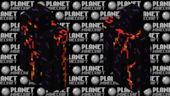 Obsidian Golem Minecraft Skin