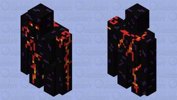 Obsidian Golem Minecraft Mob Skin