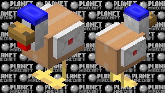 Delivery Chicken Minecraft Skin