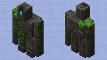 cool fantasy iron golem Minecraft Mob Skin