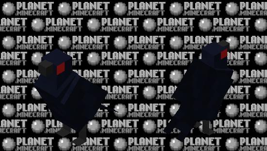 The Crow Minecraft Skin