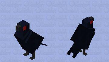 The Crow Minecraft Mob Skin