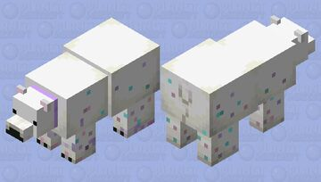 Sprinkles Polar Bear Minecraft Mob Skin