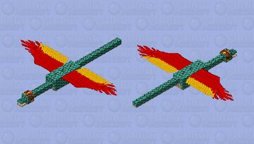Quetzalcoatl the feathered serpent | Mythical Creatures Mob Skin Contest Minecraft Mob Skin