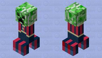 Rotten Creeper Minecraft Mob Skin
