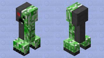 creeper 1.1 Minecraft Mob Skin