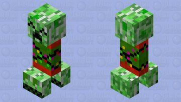 Festive Creeper! Minecraft Mob Skin