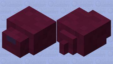 Inverted Color Endermite Minecraft Mob Skin
