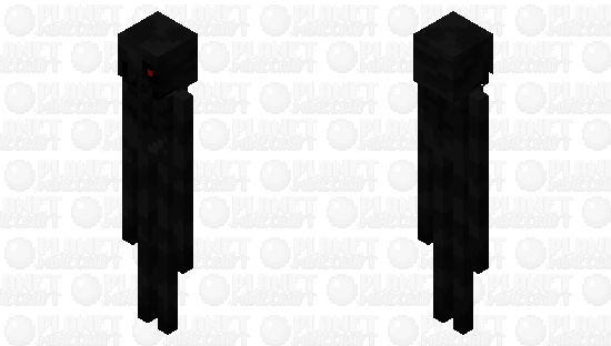 Scary enderman Minecraft Skin