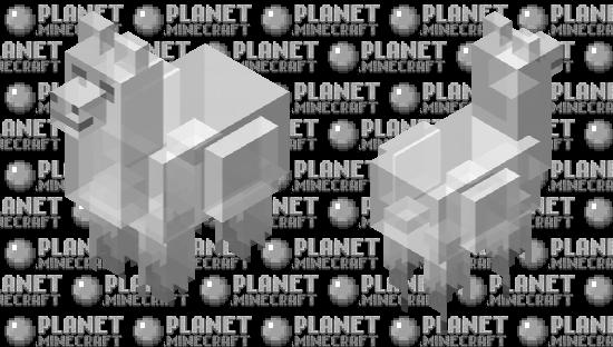 Ghost Llama Minecraft Skin