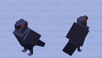Corviknight Minecraft Mob Skin