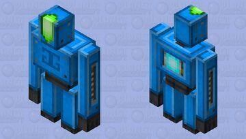 'Good Guys' Iron Golem Bot Minecraft Mob Skin